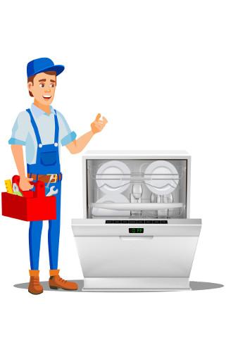 تعمیرات ماشین ظرفشویی فریجیدر